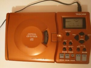 Tascam Portable CD Guitar Trainer CD-GT1MKII - powers on - Used