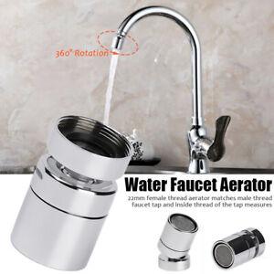 360°Brausekopf Strahlregler Brause Schwenkbrause Wasserhahn-Aufsatz Wassersparer