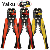 Automatic Cable Wire Stripper Cutter Crimper Plier Self Adjusting Crimping Tool