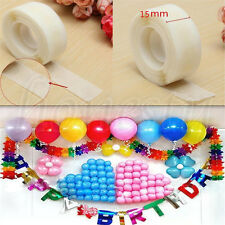 2pcs 200 Glue Dots Sticky Craft Clear Card Making Scrap Removable 1.5cm Strong