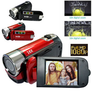 Digital Video Camera Full HD 1080P 32GB 16x Zoom Mini Camcorder DV Camera UK