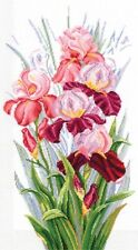 Counted Cross Stitch Kit MAKE YOUR OWN HANDS T-14 - The Triumph of Irises
