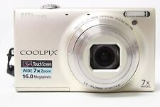 Nikon COOLPIX S6100 16.0 MP Digital Camera - Silver | READ (47024)