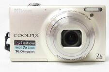 Nikon COOLPIX S6100 16.0 MP Digital Camera - Silver | READ (47024)