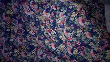 beau tissu jersey lycra fonds bleu oiseau ideal maillot 200X140 cm