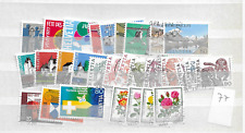 1977 USED Switzerland year collection complete according to Michel system