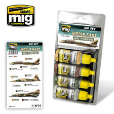 Ammo Of MIG A.MIG 7217 -Acrylic Paint Set: Middle East Air Forces