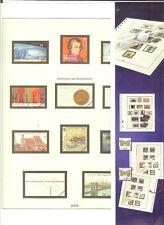 FEUILLES LINDNER ALLEMAGNE FEDERALE ANNEE 2006 Nr. 277 - 285. 9 FEUILLES