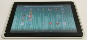 HP 10 Plus 2201 16GB Bluetooth 4.0 Wi-Fi 10.1in Silver Tablet CRACKED SCREEN