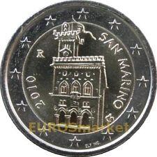 Pièces euro saint marin pour 2 euro Année 2010
