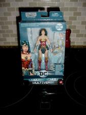 DC COMICS MULTIVERSE DC REBIRTH WONDER WOMAN ACTION FIGURE - NO LEX LUTHOR BAF