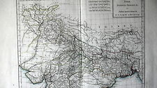 CARTE INDE - INDOSTAN BENGALE - 1803 - ORIGINALE