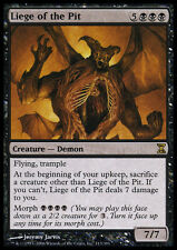 4x Liege of the Pit NM-Mint, English Time Spiral MTG Magic