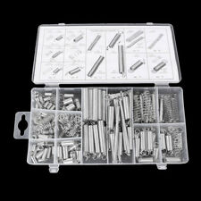 200pcs Assorted Small Metal Loose Steel Coil Springs Assortment Kit W/ Box