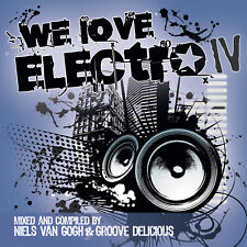 CD We Love Electro IV von Various Artists 2CDs