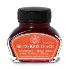 Seitz-Kreuznach Tinte Indian Summer Orange, 30ml, Colors of Nature
