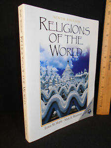 Religions of the World by Lewis M. Hopfe & Mark R. Woodward (2004, Ninth Ed 9th)