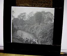 c1900s The FLORAL GARDENS BUXTON Derbyshire - Glass Lantern Photo Slide