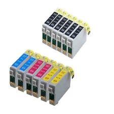 12x für Epson Stylus SX218 SX100 SX200 DX4400 DX4050 DX7400 DX7450 Tinte Patrone