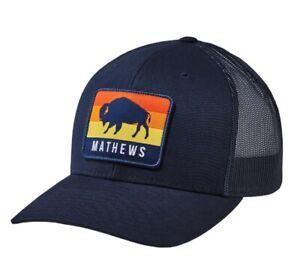 NEW MATHEWS ARCHERY HAT, BUFFALO CAP #70324