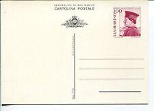 18782) SAN MARINO 1982 CP Federico da Montefeltro