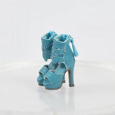 Doll Blue Shoes Sandals/인형 신발 for Fashion Royalty FR2 Poppy Parker,DG,Momoko