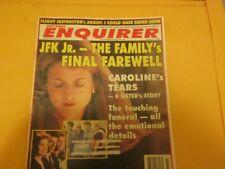 National Enquirer JFK Jr. - The Family's Final Farewell  August 10, 1999