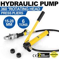 Hydraulische Presszange V-Kontur Rohrpresszange V15-18-22-28 Pressbacken 360°