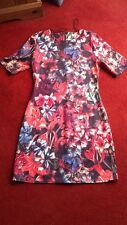 Dress Size 12 Multi-Colour Floral Bodycon New