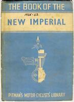 The Book of the NEW IMPERIAL - Motorcycle Owners Handbook -1952 - PITMAN'S