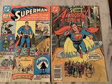 Action Comics #583,Superman #423(Dc 1986)Last Superman Story Alan Moore Amazing