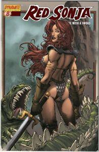 Red Sonja #8 VF/NM (2006) Brandon Peterson Red Foil Variant Cover Ltd 199 COA