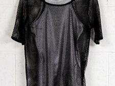 Maglie e camicie da donna neri semiaderente taglia M