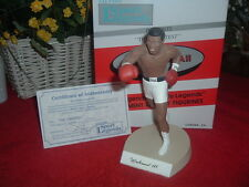 "SALVINO  Muhammad Ali, 8"" Autographed, NEW, Mint Figurine & Box, NRFBox"