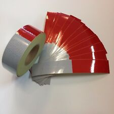 "CONSPICUITY TAPE 2"" X 10 PCS 6' X 6' DOT-C2 REFLECTIVE SAFETY TRUCK TRAILER"