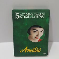 Amelie DVD 2-Disc Set, 2002 Special Edition Free Shipping