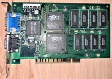 3dfx Diamond Monster 3D PCI graphic card 4 MB Rev. E 1997.