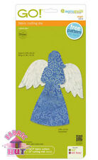 55418- New Accuquilt GO! Cutter, Big & Baby Angel Wings Die Applique Block Quilt
