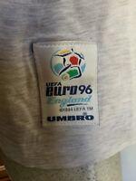 Maglia umbro calcio euro 96 england italia uefa shirt jersey vintage size L