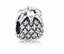 Authentic Genuine Pandora S925 Sparkling Pineapple Clear CZ charm 791293CZ