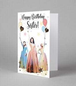 Hamilton Musical, The Schuyler Sisters Birthday Card Alexander Hamilton Print