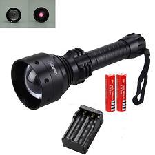 OSRAM T67 Infrared Light Torch Flashlight Hunting Night Vision IR 850nm 2*18650