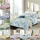 EnjoyHome Soft Luxurious Quilt 100% Cotton Print 1-Piece TWIN/ FULL / QUEEN