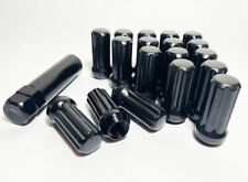 Buyer Needs to Review The spec 20pcs 1.87 Black 1//2-20 UNF Wheel Lug Nuts fit 2008 Jeep Grand Cherokee May Fit OEM Rims