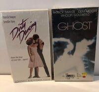 Dirty Dancing / Ghost VHS Lot New Patrick Swayze Demi Moore Jennifer Grey Whoopi