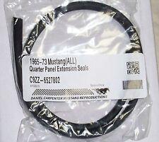 New 69-70 Mustang  Quarter Extension Seals Pair