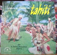 BALLET POLYNESIEN HEIVA CHANTS ET DANSES DE TAHITI 25cm FRENCH LP