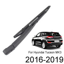 Fit For Hyundai Tucson MK3 2016 - 2019 Rear Windscreen Wiper Arm Blade Set Kit