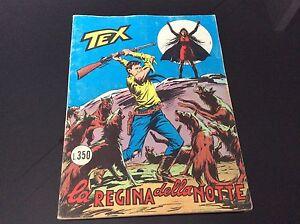 Tex Necklace Giant Nr ° 136 - La regina Della Night - Lire 350 February 1972