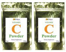 2 ~ 100% Pure * ASCORBIC ACID * VITAMIN C POWDER * 5000mg 1 lb Pound Antioxidant